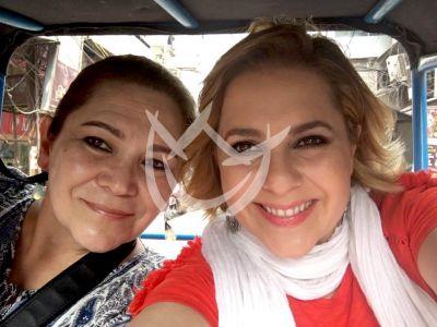 Ana María Canseco despide a su mamá
