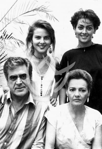 Kate en familia 1983
